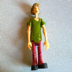 "Scooby Doo  Shaggy 5"" character options Action figure"
